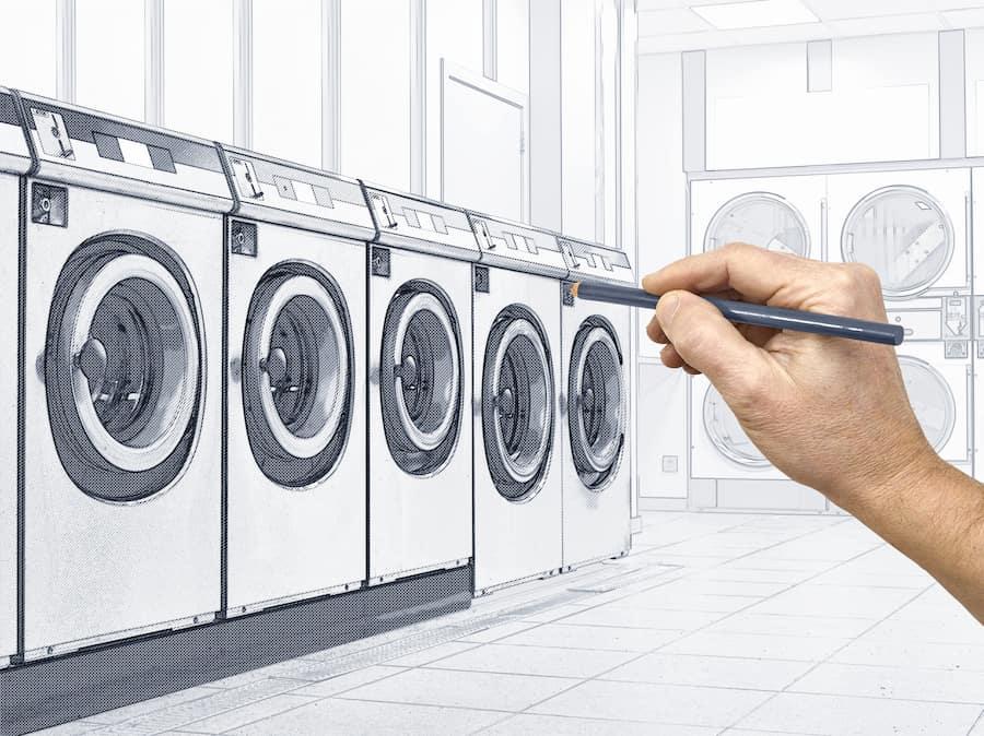 Choisir le local laverie et l'aménager