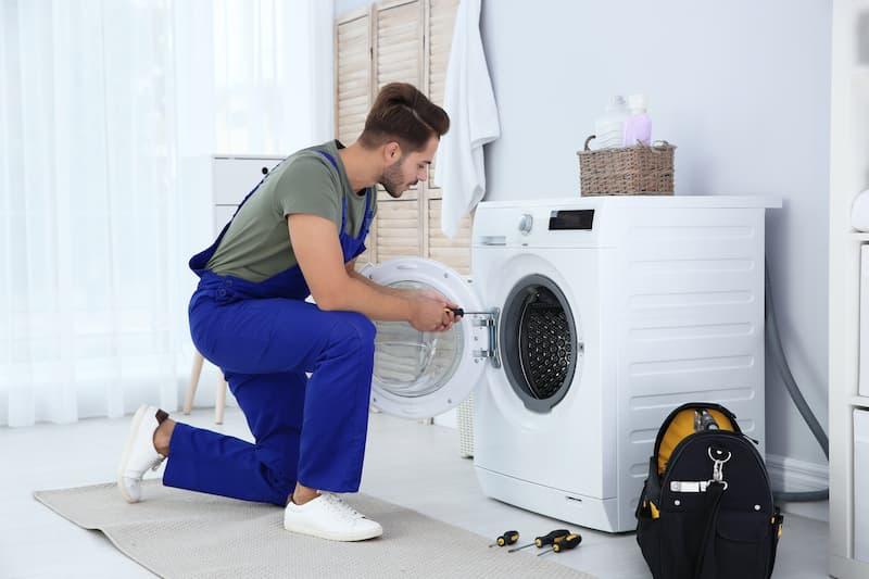 Réparer le tambour d'une machine à laver